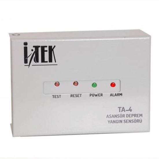 İtek Asansör Deprem Yangın Sensörü